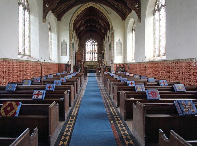 St Mary, North Tuddenham - East end
