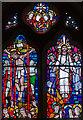 TQ8010 : East window, St Luke's United Reformed Church, St Leonards on Sea by Julian P Guffogg
