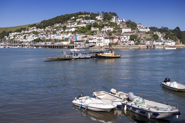 Kingswear from Bayards Cove, Dartmouth