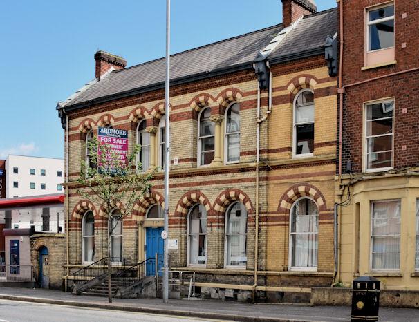 Former Shaftesbury Square Hospital, Belfast (June 2014)