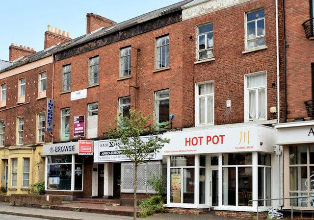 Nos 122-126 Gt Victoria Street, Belfast (June 2014)