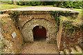 """SU5940 : """"Buried"""" church of St.Nicholas by Richard Croft"""