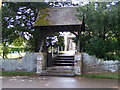 TF6928 : Lych gate at the Church of St. Mary Magdalene, Sandringham by Paul Bryan