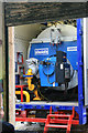 SK5806 : Abbey Pumping Station - boiler in a box by Chris Allen