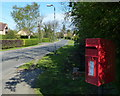 TF0816 : Postbox on Swallow Hill in Thurlby by Mat Fascione