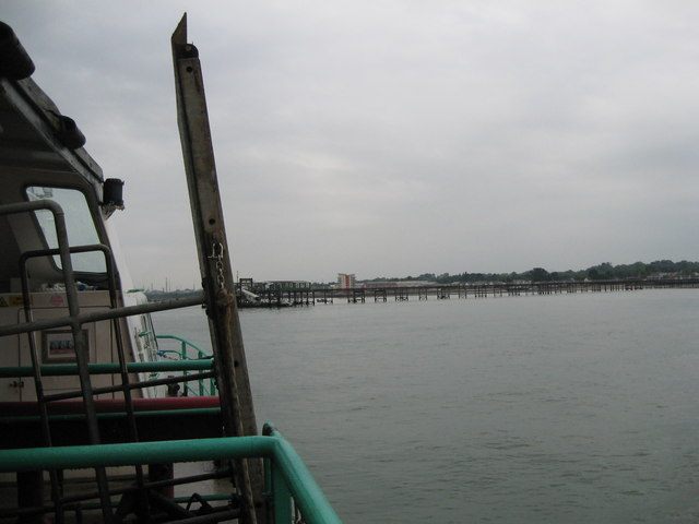 Pier ahead-Hythe, Southampton, Hants