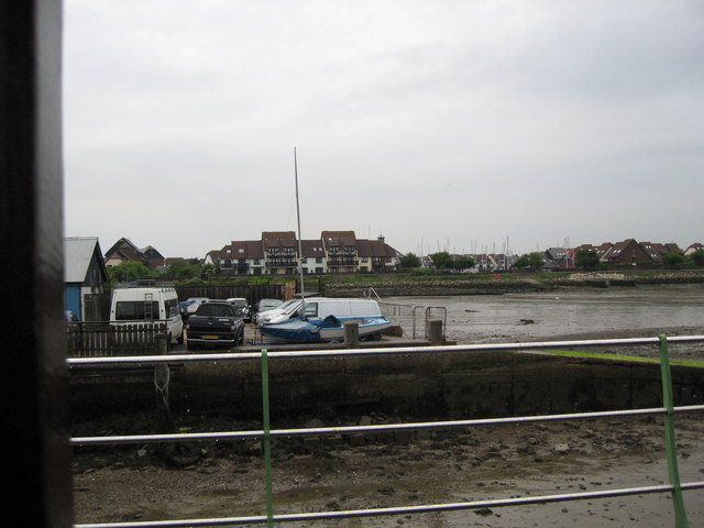 Other end of the pier-Hythe, Southampton, Hants