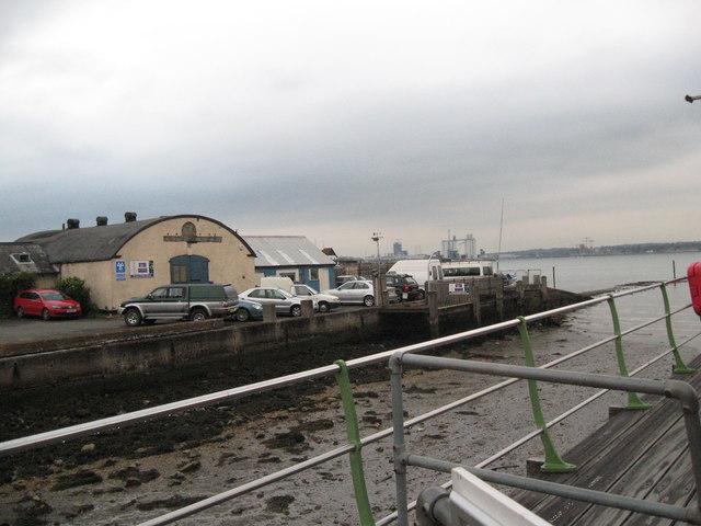Ready for the return-Hythe, Southampton, Hants