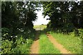 SP4618 : Gate on the bridleway by Steve Daniels