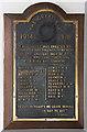 TG4704 : St Peter & St Paul, Burgh Castle - War Memorial WWI by John Salmon