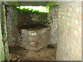 TG1427 : Type-27 pillbox - interior by Evelyn Simak