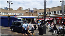 TQ0584 : An entrance to Uxbridge tube station by Jeremy Bolwell