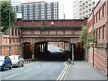 SP0686 : Worcester & Birmingham Canal - Holliday Street aqueduct by Chris Allen