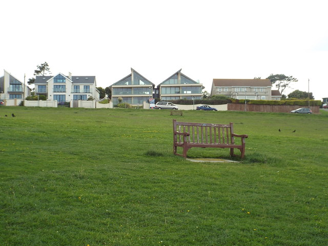 Bench at Furzy Cliff near Weymouth
