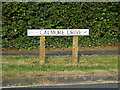 SU3314 : Calmore Drive sign by Adrian Cable