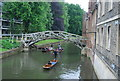 TL4458 : The Mathematical Bridge by N Chadwick