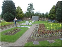 NY1281 : Memorial Garden at Lockerbie Cemetery by James Denham
