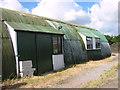 TM4078 : Restored RAF Nissen hut on industrial estate by Evelyn Simak