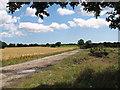 TM4077 : Crop fields near Holton by Evelyn Simak