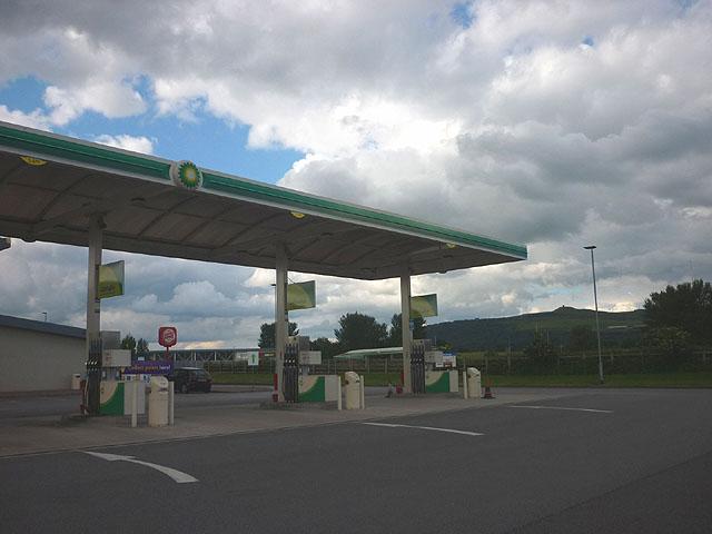 Rivington Services, petrol forecourt