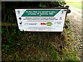 TQ1929 : Sign at the entrance to Horsham RUFC by Adrian Cable