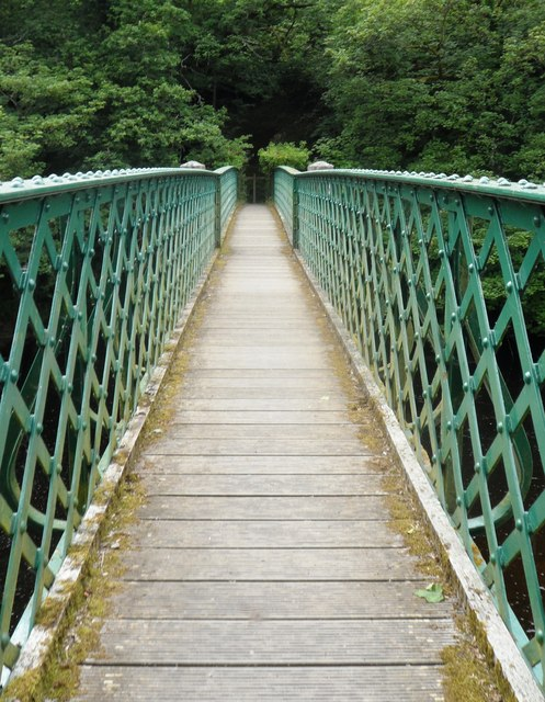 Footbridge over the River Tees