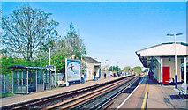 TQ2575 : Wandsworth Town Station by Ben Brooksbank