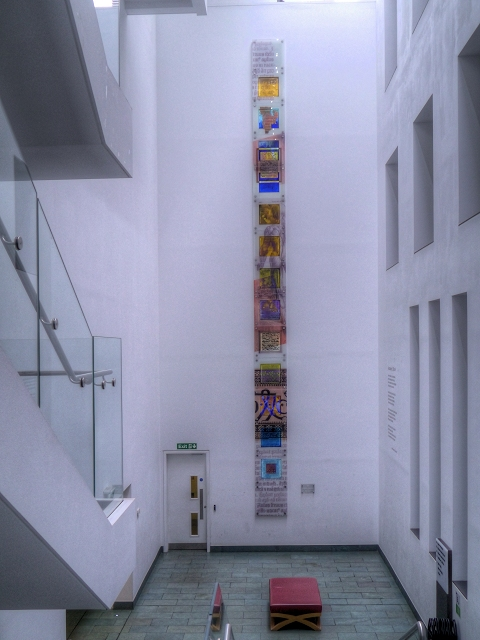 Stairwell, John Ryland Library Annexe