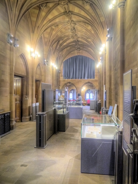The Rylands Gallery, John Rylands Library