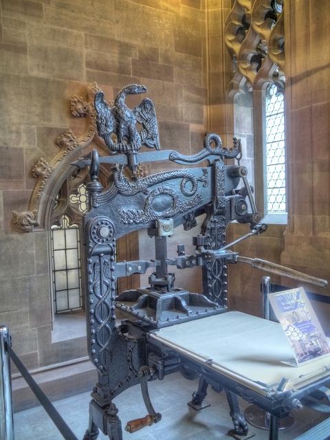 Columbian Printing Press, John Rylands Library