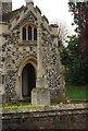 TL4965 : War Memorial, Parish Church of St John the Evangelist by N Chadwick