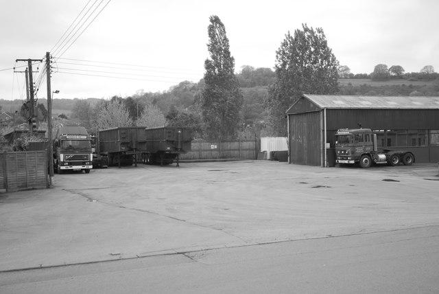 Harold Read's haulage yard, Longhope