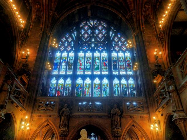 Biblical Window, John Rylands Library