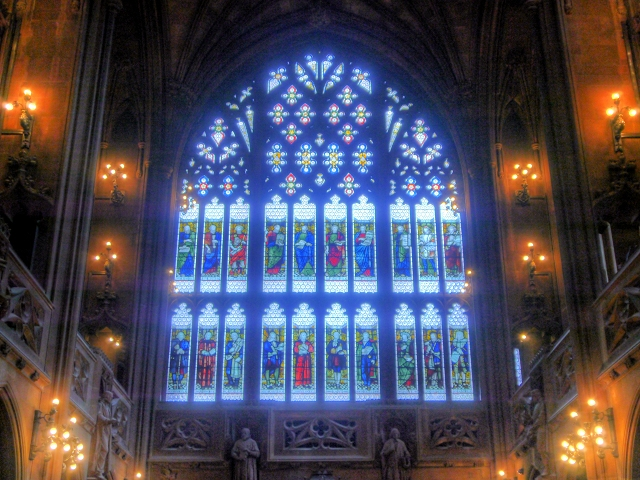 The Secular Window, John Rylands Library