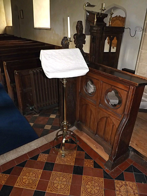 2nd Lectern of St.Mary Magdalene Church