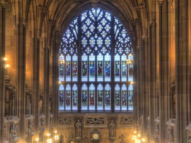 John Rylands Library, The Secular Window