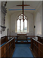 TM3761 : Altar & Window of St.Mary's Church by Adrian Cable