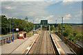 SE8310 : Althorpe Railway Station by Trevor Littlewood