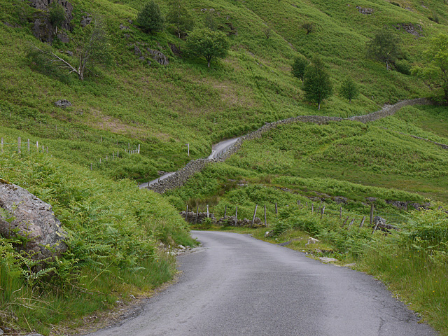 The road below Side Pike