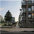 TL4657 : New blocks near Cambridge Station by John Sutton