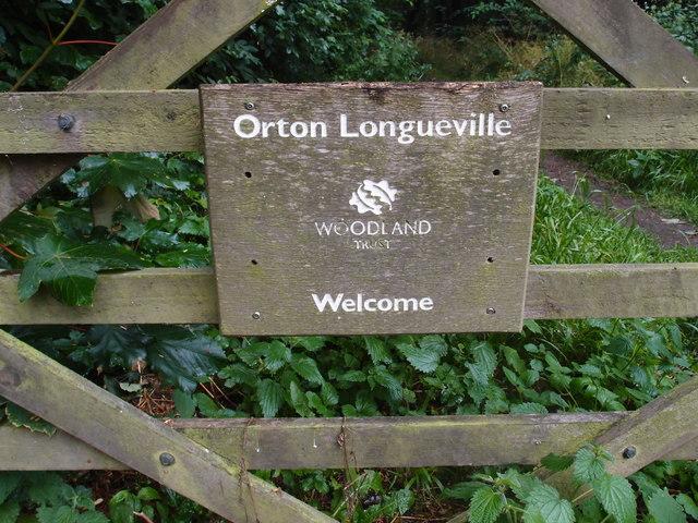 Woodland Trust sign