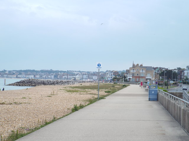 South West Coast Path approaching Weymouth