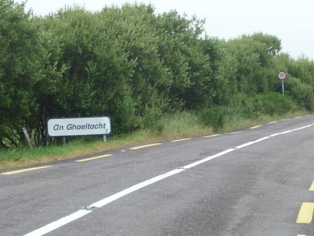 Entering an Ghaeltacht, Waterville
