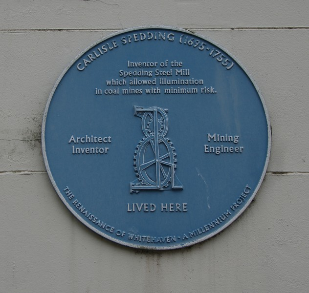 Carlisle Spedding plaque, Irish Street