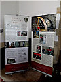 TM3577 : Information Boards in St.Mary's Church by Adrian Cable