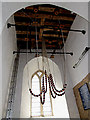 TM3577 : Bell Ropes of St.Mary's Church by Adrian Cable
