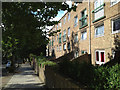 TQ3376 : Terraced flats south of Lettsom Street, Camberwell Grove by Robin Stott