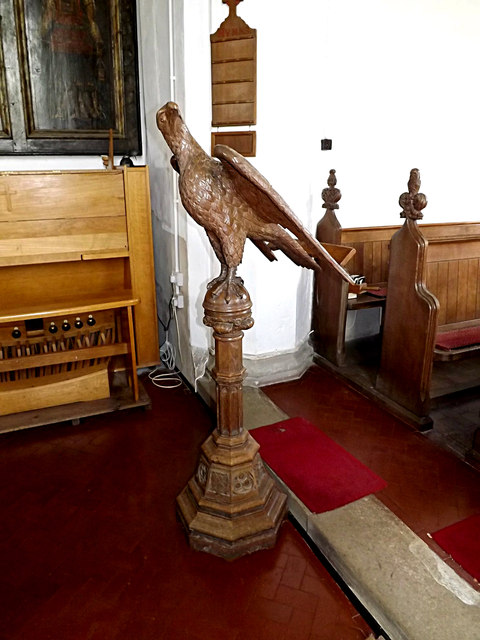 Lectern of St.Mary's Church