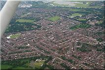 SP7761 : Abington, Northampton: aerial 2014 by Chris