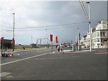 SD3035 : Road junction  in Blackpool by James Denham